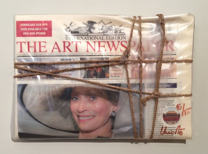 Wrapped The Art Newspaper, 2015